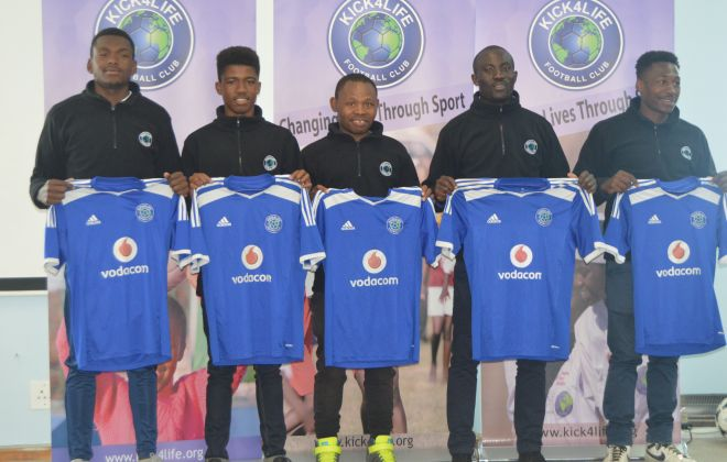 Kick4Life unveil new signings