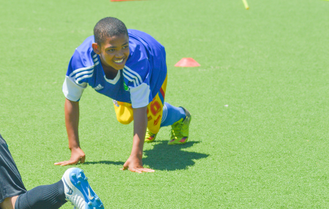Jason plays in Pretoria for NADL