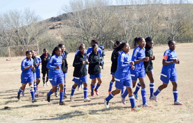 Seven K4L Ladies players represent Lesotho