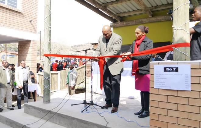 King of Lesotho declares No.7 restaurant officially open