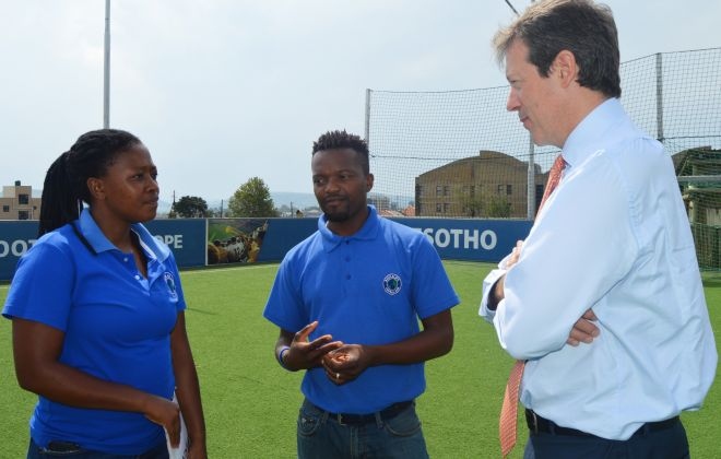 British High Commissioner visits K4L