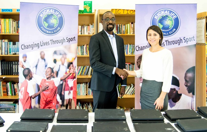 World Bank Group donates laptops to K4L