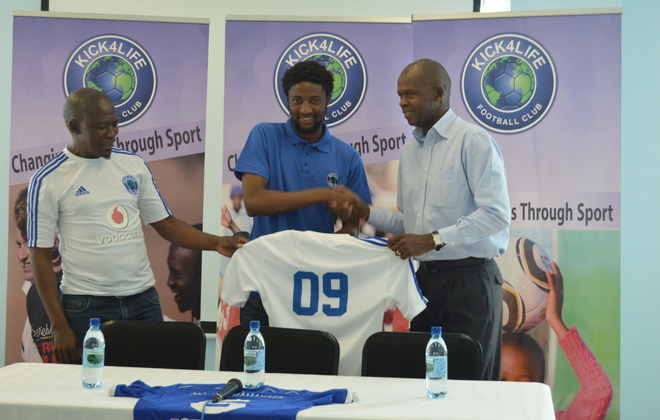 Lesotho striker Masoabi signs for K4L