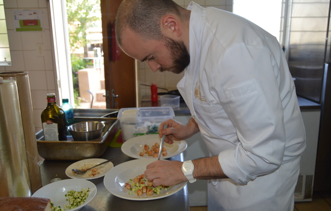 No.7 hosts globally renowned chef